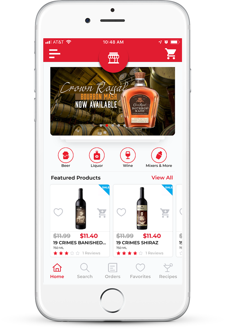 white label websites for liquor
